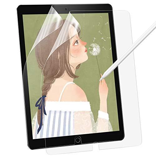 BANNIO [2 Stück] Schutzfolie für iPad 8 2020 (10.2″) / iPad 7 2019/ iPad 10.2 2019/iPad Air 3 (10.5″)/iPad Pro 10.5,Matte PET Bildschirmschutzfolie [Schreiben/Zeichnen wie auf Papier],Nicht Panzerglas