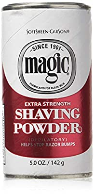 Magic Shaving Powder - Extra Strength - Depilatory - 5 Oz (142 G) - Pack Of 3 from