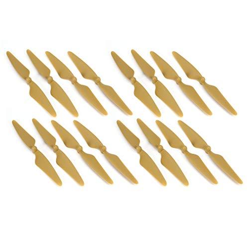 Dpatleten 8 Paia di eliche CW/CCW Blade per Hubsan H501S H501C H501A H501M RC Drone Gold