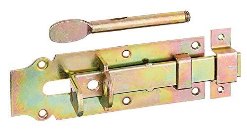 GAH-ALBERTS 117160 Cerrojo porta-candados para establos, Acero, 180 x 64 mm