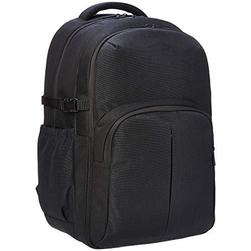 Amazon Basics Urban Laptop Backpack, 15 Inch Notebook Computer Sleeve, Black