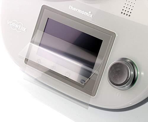 dipos I 2X Schutzfolie matt kompatibel mit Vorwerk Thermomix TM5 Folie Displayschutzfolie