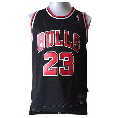LinkLvoe Camiseta de Baloncesto NBA Michael Jordan # 23 Chicago Bulls para Hombres, los fieles Seguidores de Los Angeles Lakers y Lebron James no Deben perderse Esta Camiseta
