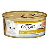 Gourmet Gold Pâté Mega Pack Complete Wet Cat Food Recipes For A Balanced and Healthy Diet - Tuna, 48...