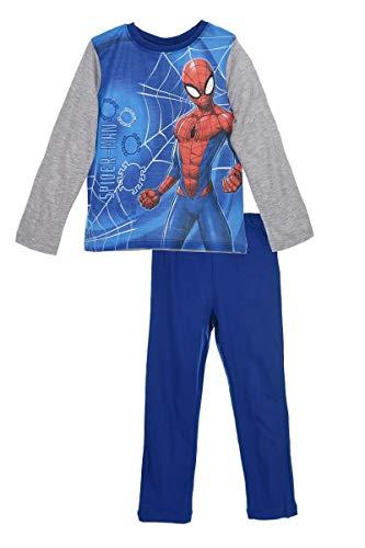 Spiderman - Pijama Dos Piezas - niño Azul 3 Años