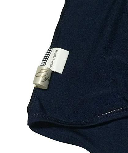 『Eiza スクール水着 ワンピース 前面スカート 旧型 タイプ 高伸縮 素材 コスプレ スク水 e744 (白, M)』の4枚目の画像