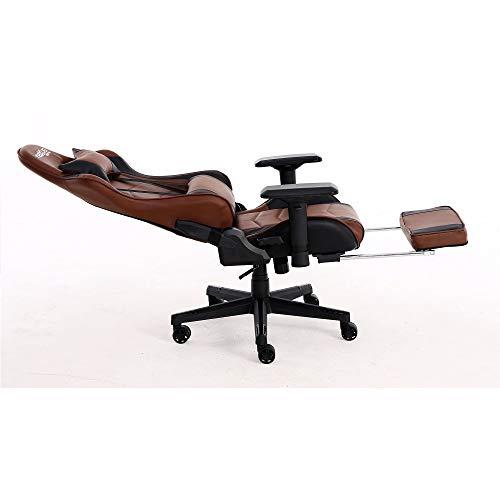 Cadeira Gamer Mod. Scorpion-418 Marrom e Preto - Nexus Gamer