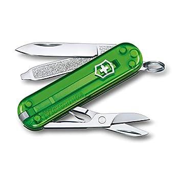 Victorinox Taschenmesser Classic SD Colors Couteau de Poche. Mixte-Adulte, Thé Vert, 58 mm