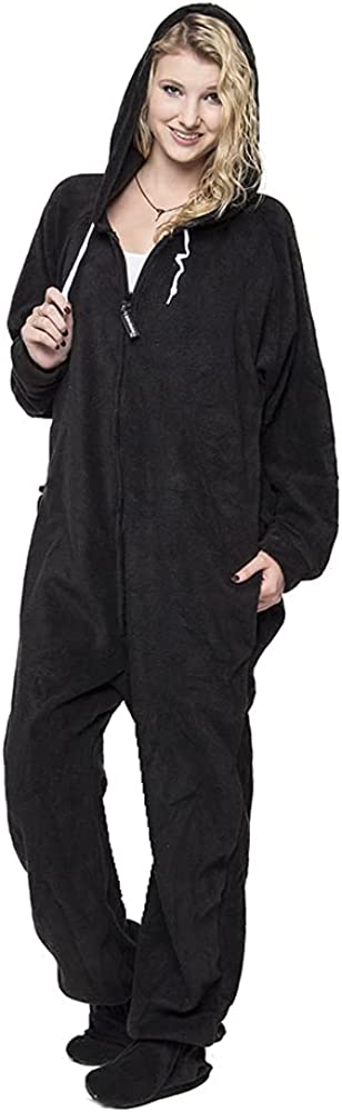 Forever Oklahoma City Mall Lazy Max 42% OFF Footed Adult Onesies One-Piece fo Pajama Jumpsuits