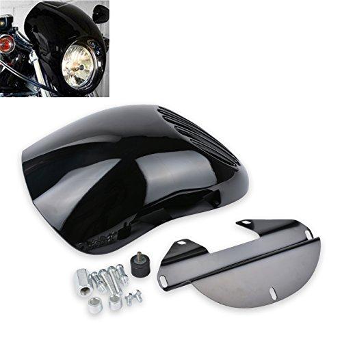 TUINCYN Kit de Montage pour Phare Avant de Moto avec Support de Montage pour Porte-clés Harley Davidson Sportster KapscoMoto (Lot de 1)