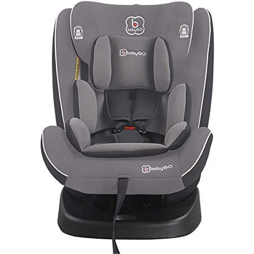 babyGo Nova grey Kinderautositz Isofix 0-36 kg