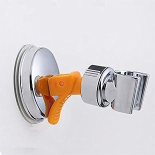 Ocamo 360 Degree Adjustable Sucking Disk Type Shower Head Holder Shower Nozzle Fixing Stand:Tudosobrediabetes