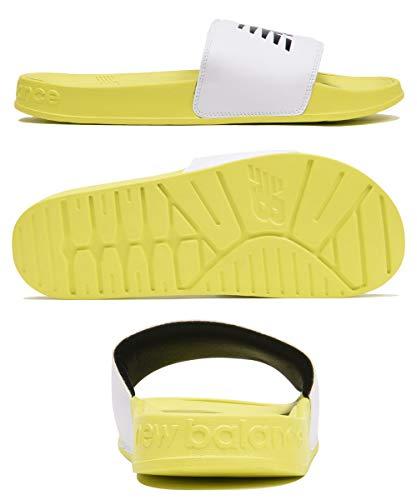 [ニューバランス]スポーツサンダルSMF200メンズレディースユニセックススリッパシャワーサンダルシューズ靴海水浴|US10(28cm)B.ホワイト×ブラック(F1)