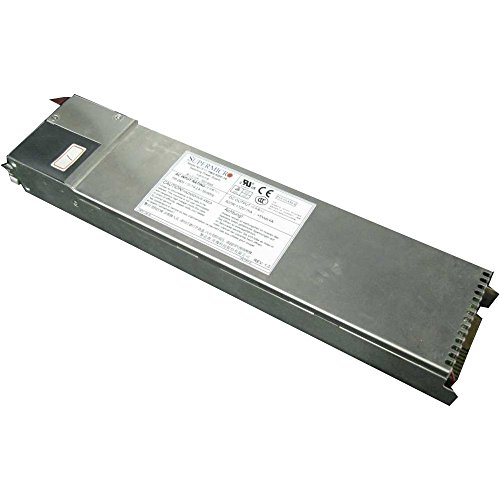 Supermicro PWS-920P-1R Power supply ( rack-mountable ) - 80 PLUS Platinum - AC 100-240 V - 920 Watt - PFC - 1U