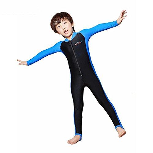 Axiba Kinder duikpak voor jongens en meisjes Beach anti-UV badpak XL B