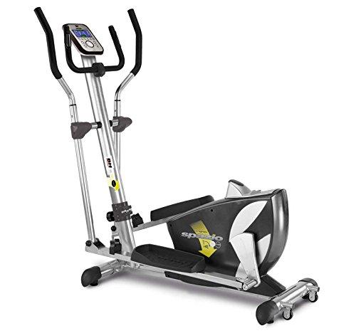 BH Fitness SPAZIO PROGRAMM 10002361 Ellipsen-Faltmagnetfahrrad 14 kg Trägheitssystem 40 cm Schritt