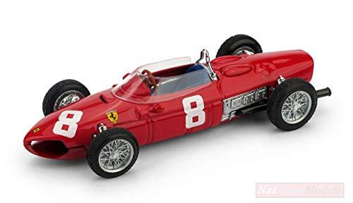 Brumm Modelo A Escala Compatible con Ferrari 156 F1 R.Rodriguez 1961 N.8 DNF Italy GP 1:43 BM0642