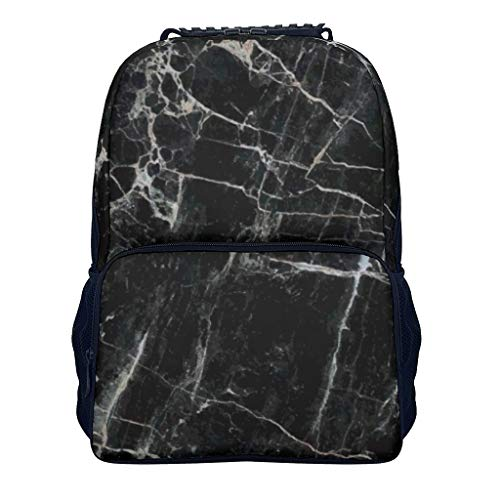 Stone texture-Mirror Stone texture-Mirror blackblack white Children's Kindergarten Backpack Classic Perfect Size for School and Travel Stone texture white onesize
