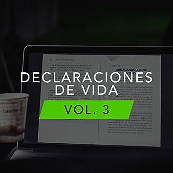Declaraciones De Vida, Vol. 3