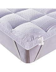 Bedecor 3D microvezel matrastopper,antislip,extra zacht,perfect voor divanbedden of waterbedden