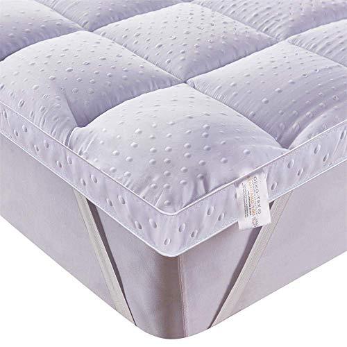 Bedecor 3D microvezel matrastopper,antislip,extra zacht 160 x 200 cm,perfect voor divanbedden of waterbedden
