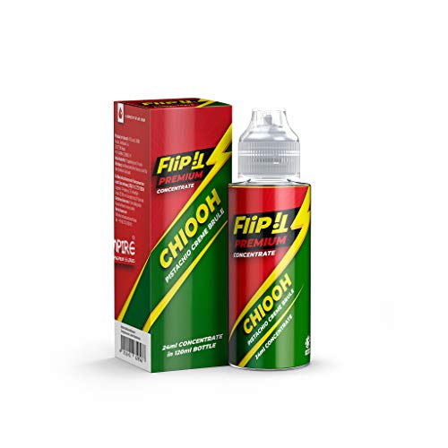 PJ Empire Aroma Flip It - Chiooh, Shake-and-Vape zum Mischen mit Base Liquid für e-Zigarette, 0 mg Nikotin, 24 ml