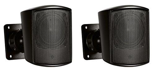 JBL Professional Control 52 Surface-Mount Satellite Speaker for Subwoofer-Satellite Loudspeaker System, Black, Sold as Pair