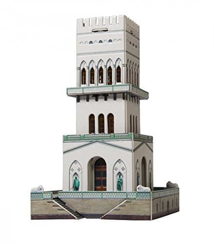 CLEVER PAPER- Puzzles 3D Torre Blanca, Rusia (14406)
