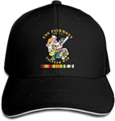 BOIPEEI Gorra de béisbol USS Piedmont (Ad-17) W Vn SVC - Guerra de Vietnam Moda Unisex Deportes Retro Gorras...