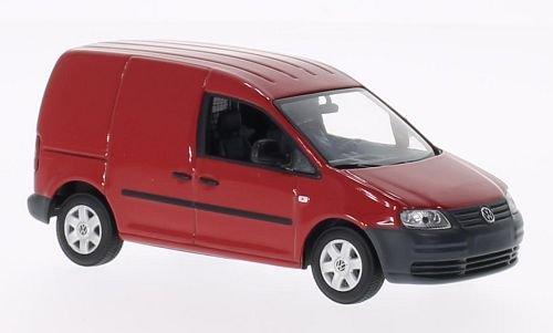 VW Caddy, rot, 2004, Modellauto, Fertigmodell, I-Minichamps 1:43