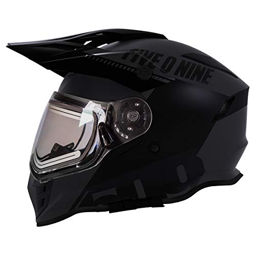 509 Delta R3 Ignite Full Face Snow Helmet with Fidlock (Orange - X-Large)