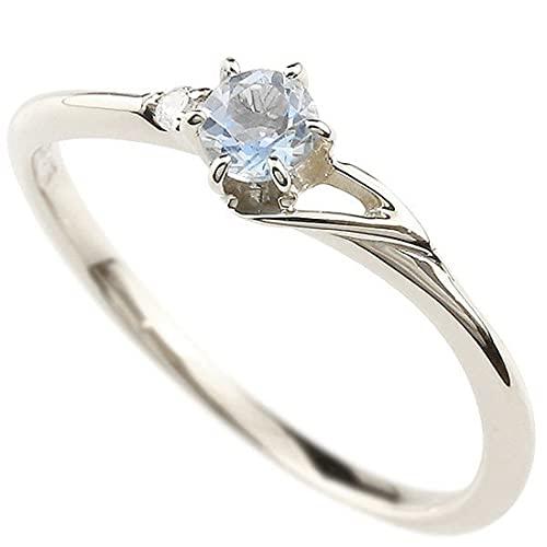 [アトラス]Atrus 指輪 レディース sv925 スターリングシルバー ブルームーンストーン ダイヤモンド イニシャル ネーム T ピンキーリング 華奢 アルファベット 6月誕生石 2号