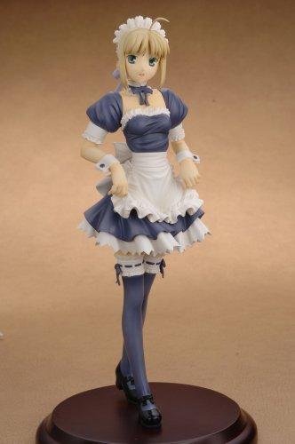 Clayz - FIGCLAY001 - Figurine - Fate/Hollow Ataraxia - Saber Maid version PVC statue au 1/6ème