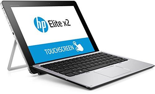HP Elite x2 1012 G1 (L5H17EA) Tablet PC (Intel Core m3-6Y30, 4 GB di RAM, 128 GB SSD, con tastiera, Windows 10 Pro 64), argento