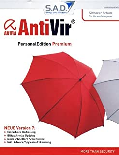 Avira AntiVir Premium - Seguridad y antivirus (1 usuario(s), 1 Año(s), Intel Pentium 133 MHz, Windows 2000, SP4 and Update Rollup 1 Windows XP (32 or 64 Bit), SP2)