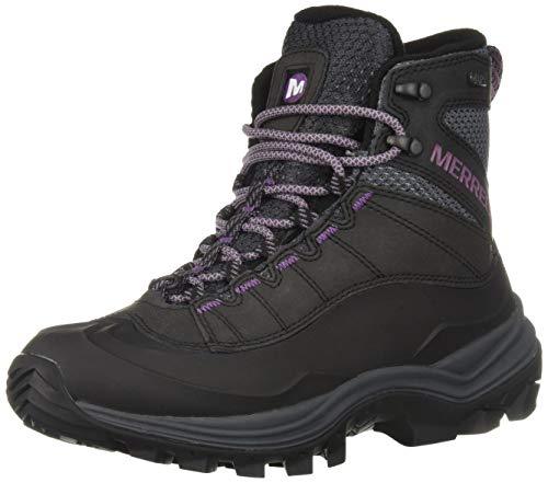 Merrell Women's Thermo CHILL MID Shell WP Snow Boot, Black, 8 Medium