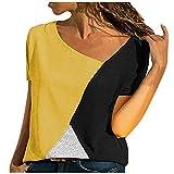 Camiseta de manga larga para mujer, cuello diagonal, elegante, para otoño, invierno, primavera, Negro C, L