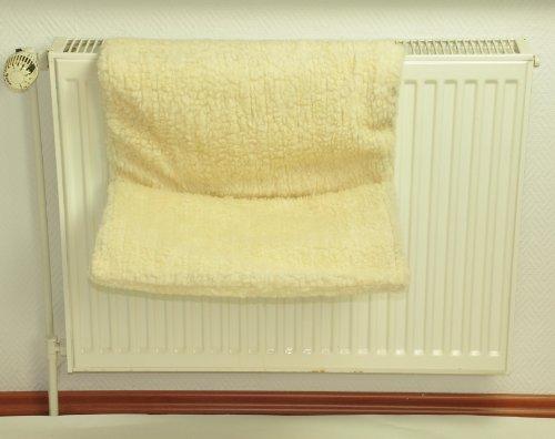 nanook lit/hamac de radiateur pour Chat modèle Dream 47 x 29 x 26 cm (LxlxH), Montage sans perçage