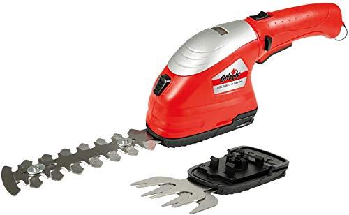 Grizzly Tools Akku Grasschere AGS 3,6 V - Strauchschere, Rasenschere, Inkl. Akku und Schnell-Ladegerät