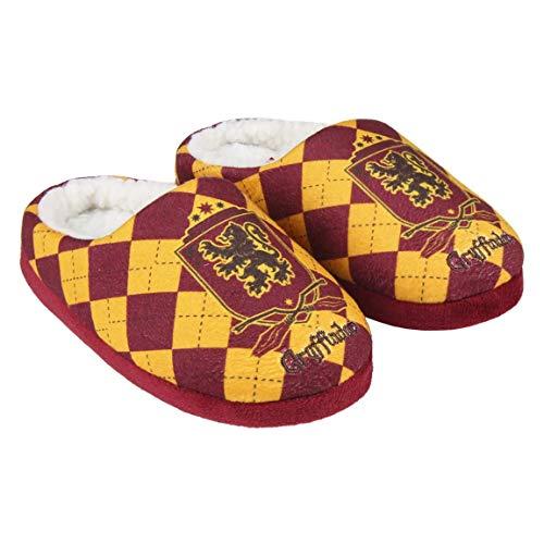 Zapatillas de interior para niños y niñas Harry Potter, color rojo y amarillo del 28 al 35 (EU, numeric_28)