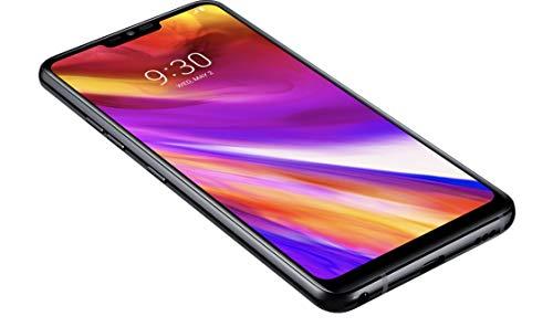 Tim 775645 LG LMG710 G7 Smartphone, 64 GB New Aurora Schwarz