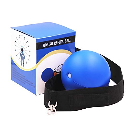 Lowest Prices! Tekijun Boxing Reflex Ball Set, Boxing Reflex Speed Ball MMA Muay Thai Raising Hand E...