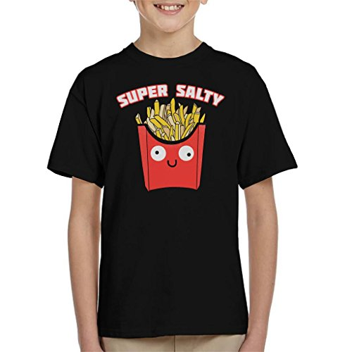 Cloud City 7 Super Salty French Fries Kid's T-shirt