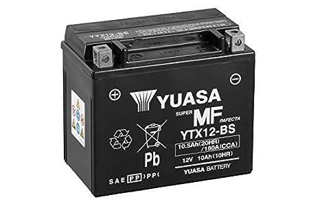 Yuasa YTX12-BS(WC) Batería sin mantenimiento