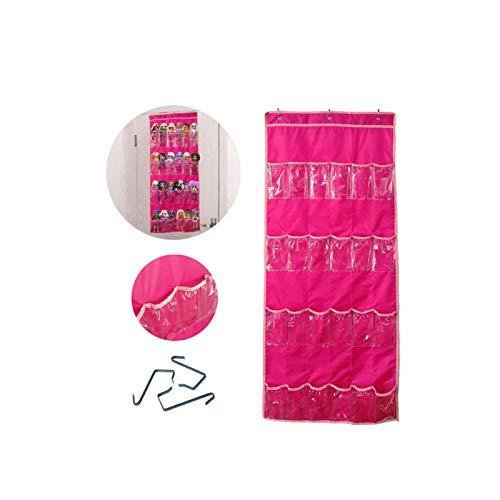 Almacenamiento de juguetes utilizado para la muñeca LOL Surprise, organizador colgante utilizado para la muñeca Barbie LOL OMG, juguetes para guardar el dormitorio,regalos para niños (137,5x55,8cm)