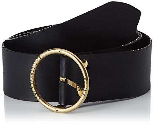 LEVIS FOOTWEAR AND ACCESSORIES Athena Cinturón, Negro (R Black 59), 80 para Mujer (Ropa)