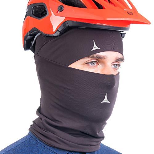 2 in 1 Winter Neck Gaiter & Skull Cap Beanie. Cold Protection Bandana Balaclava Face Mask
