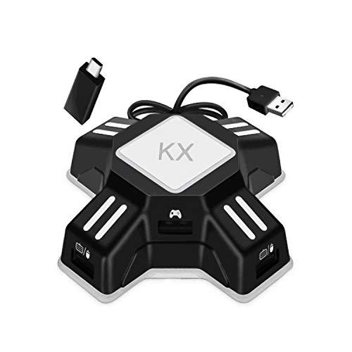 Adapter Maus und Tastatur Konverter für Xbox Series X/S / PS4 / Xbox One / Switch USB 2.0 Game Controller Converter Keyboard Mouse