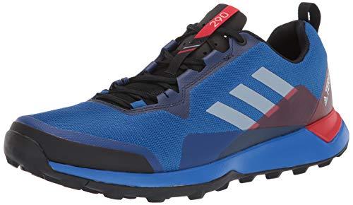 adidas Terrex CMTK, Zapatillas para Carreras de montaña Hombre, Azul Beauty Gris Uno Activo Rojo, 40 EU