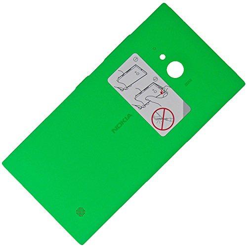 Nokia Lumia 735 Original CC-3086 NFC WLC Kabellos Lade-Schale Grün Schutz-Hülle Gehäuse Back-Cover Rückschale